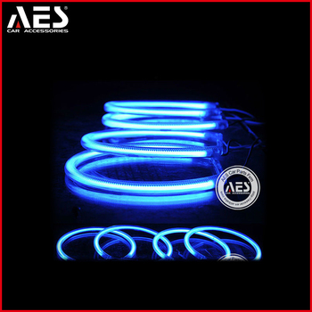 AES auto aftermarket parts angel halos CCFL angel eyes ring for E46, or LED light