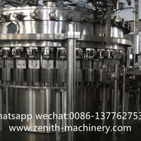 Automatic Carbonated Beverage Filling Production P