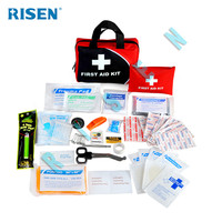 China wholesale Factory supply CE/FDA/ISO certification promotion first aid kit medical bag with medical supplies