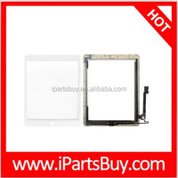 wholesaler Home Key Button PCB Membrane Flex Cable + Touch Panel Installation Adhesive) Replacement Touch Panel for iPad 4