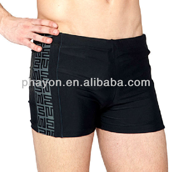 custom mens swim trunk for competition and training short beach short for summer swimming