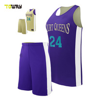 woman new style basketball jersey color purple