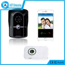 Home Security Night Vision WIFI Wireless IP Door Bell Video Peephole Camera with PIR Detection