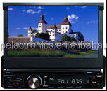 7 inch 1 din universal in dash car stereo DVD player with GPS Navigation