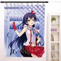 New Sonoda Umi - Love Live Anime Japanese Window Curtain Door Entrance Room Partition H0154