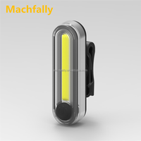 Machfally New Style USB LED Bicycle Tail Light BIke light Flashlight Cob Bicycle Light