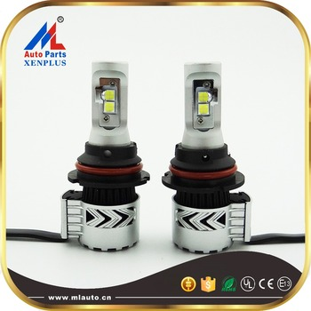 Milan auto G8 xhp50 9007 high low beam led chip super bright 72w 12000lm 12-24v led headlight bulbs
