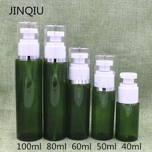 40ml/50ml/60ml/80ml/100ml Plastic PETG cosmetic serum lotion toner bottle