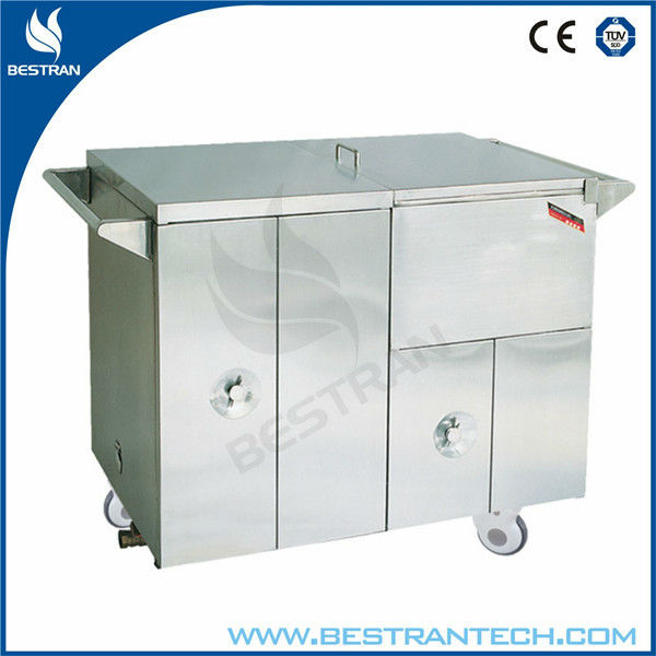 BT-SFT005 Easy clean hospital insulated food trolleys