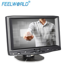 FEELWORLD 7 inch head rest car monitor, touch screen cover for monitor