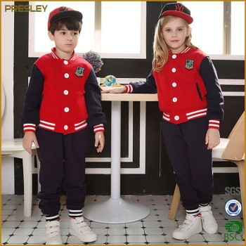 Custom Varsity Jackets,Baseball Jackets Sets Kids Children School uniform
