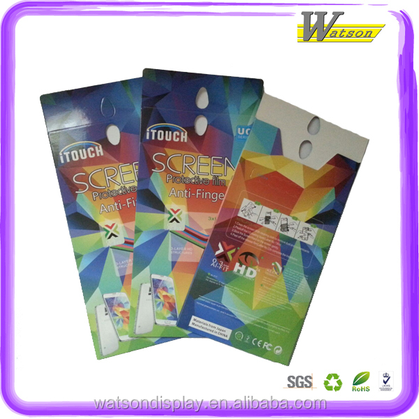 350G Art Paper 4C Printing Card For Mobile Film