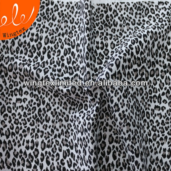 260g 83/17 Nylon spandex Two way tricot printed fabric