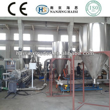 HS caco3 pe compounding granulating machinery