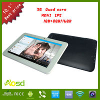 High Quality 1280 800 Pixels Ips Screen Phone Call 10Inch Tablet Pc 3G Gps Wifi Phone Bluetooth