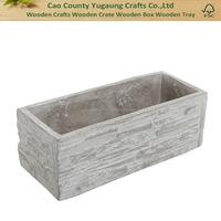 Decorative Kitchen Herb Garden Wooden Planter Box