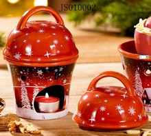 Terracotta Christmans apple roaster, 2017 New Christmas ceramic product