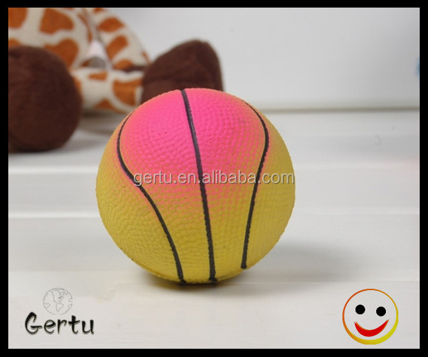 baseball shape sponge rubber ball