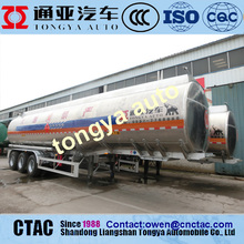 China factory Aluminium Tanker Trailer For Sale