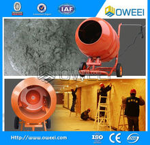 construction equipments movable portable Hand Push Small Concrete Cement cement mixer with plastic drum With CE Approved