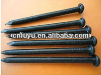 many sizes of standard black concrete nail concrete steel nail
