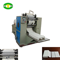 2 Lanes interfold facial tissue full embossing machine