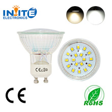 High Quality! 5W GU10 LED Spot Light gu10 led spotlight 5w glass