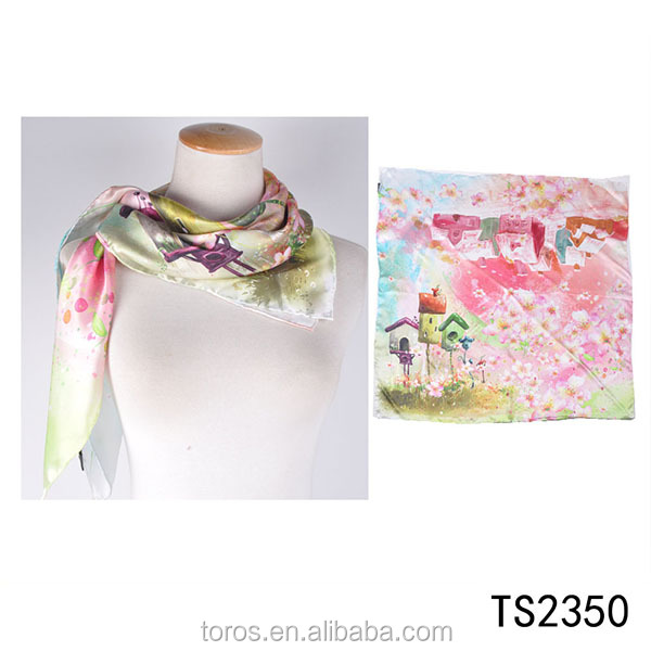 TOROS 2017 shawls and scarves digital printing silk scarves