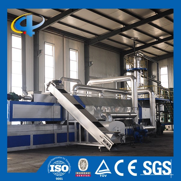 Win-Win Combine Construction Fully Automatic Tyre Pyrolysis Plant