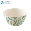 3.5 inch melamine small unique salad bowls in plastic