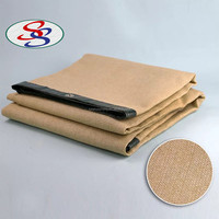 Beige Color Shadow HDPE Sun Shade
