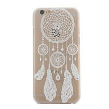 fresh Summer Fruit Lemon Cherry Painted 3D Relief Soft Clear TPU Silicone Case For iPhone 6 6plus Sunflower Giraffe Skin Cover