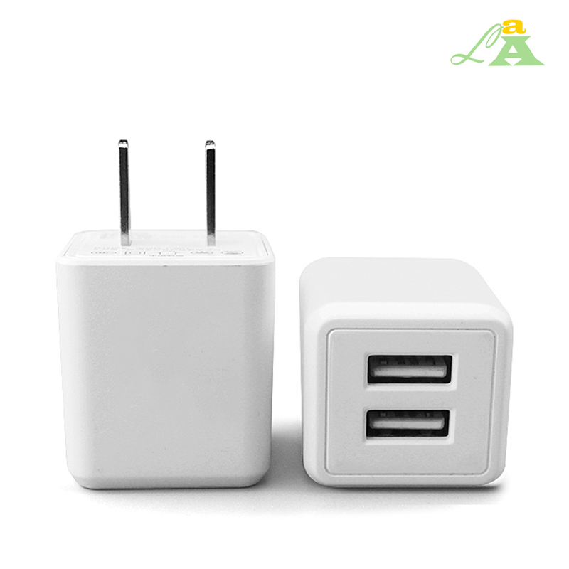 High Amp Mobile Phone Trave Dual USB Charger