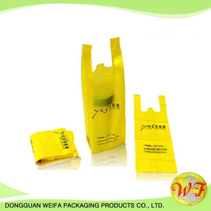 High quality customized plastic bag klang