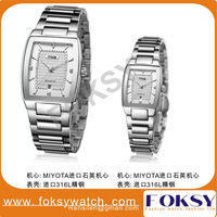 Whole Stainless steel 316L Quartz japan movt diamond quartz watch Wrist