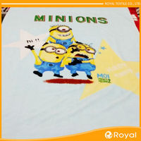 Cartoon fabric for children baby clothing