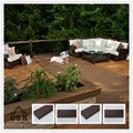 2015 new anti-uv wpc decking composite wood prices composite decking china