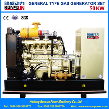 50kw methane gas/biogas generator set