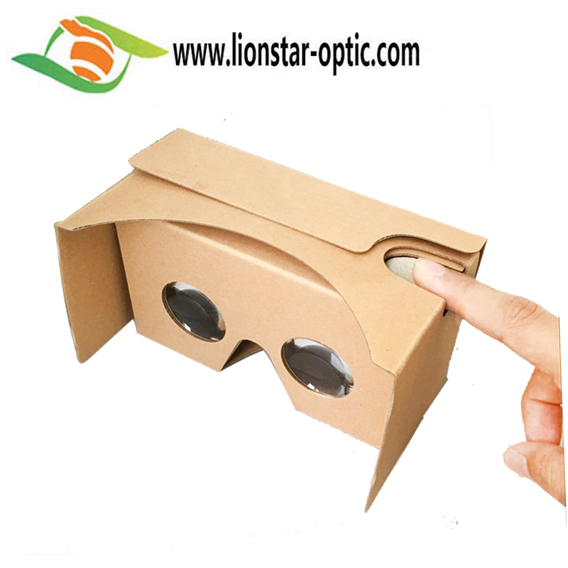 Custom 3D Vritual Reality VR Movies Headset Goggles Google Cardboard 2.0 Glasses