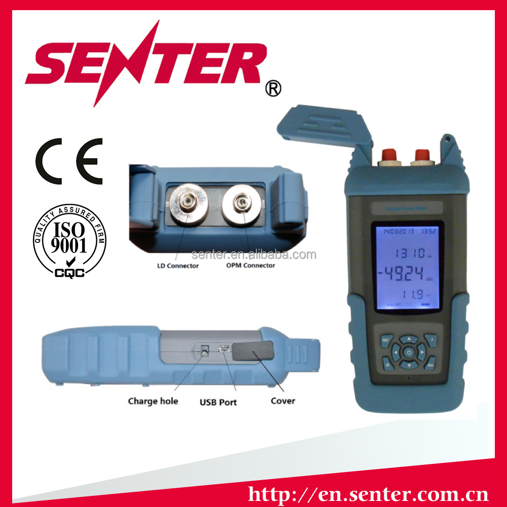 ST801B- Combining Optical power Meter and Light Source together Optical Multimeter ,CATV Tester