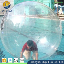 2m large inflatable water walking ball, walk on water ball for adult
