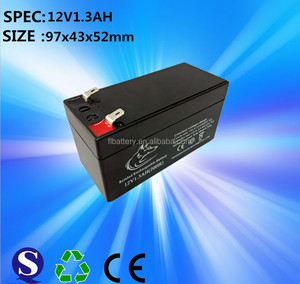 widely used 12v battery deep cycle lead acid ups battery 12v 1.3ah 2.3ah 3.3ah