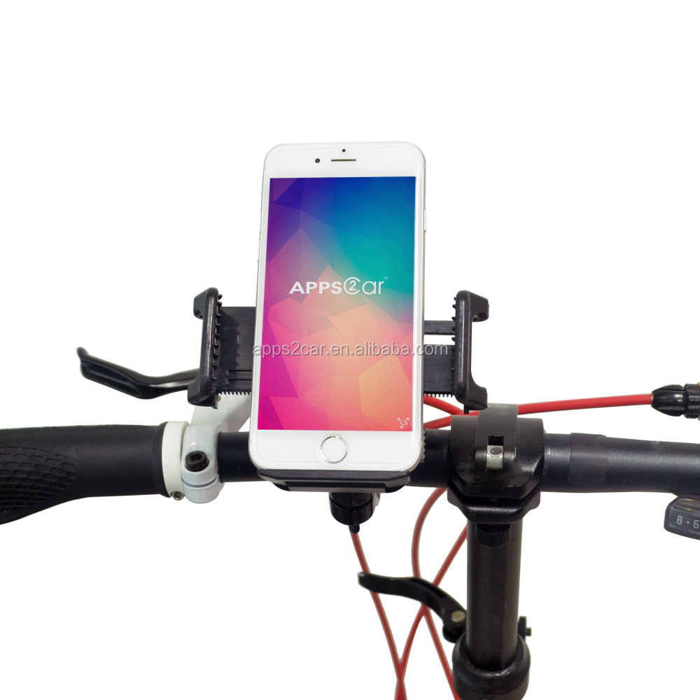Apps2car Motorcycle Bike Cycle Handlebar Mount for iPhone 6s, Mountain Bike Holder Cradle