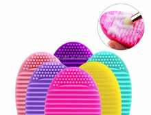 Makeup Brush Egg Cleaning brush roller Silicone