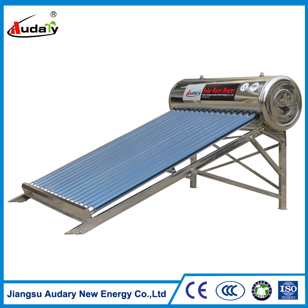 Low price of pressurized solar water heater flat panel ultrasonic cleaning machine