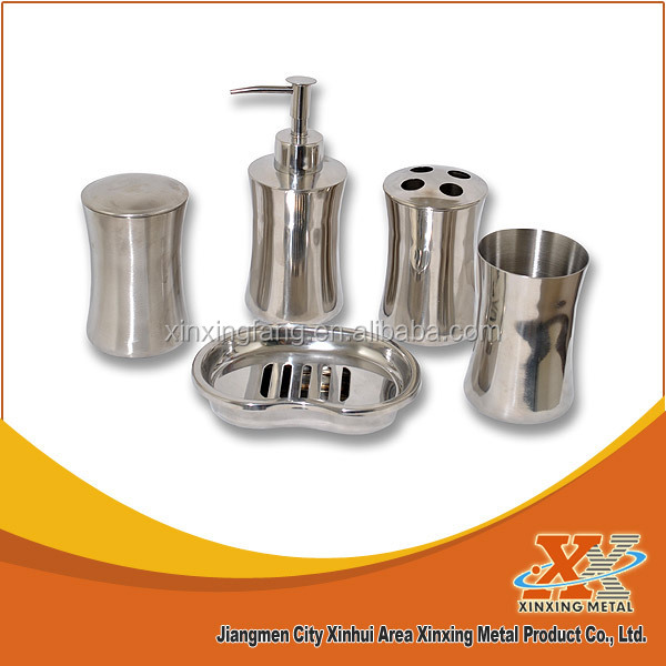 stainless steel Modern Bathroom Accessories sets / accessories bathroom