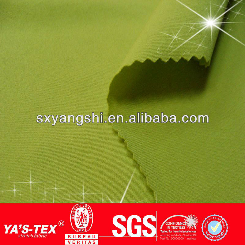 150gsm Water repellent polyester Elastane woven fabric for wholesale