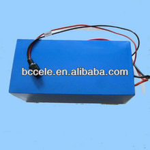 Discharge high 48v lifepo4 30ah e-bike frame battery pack