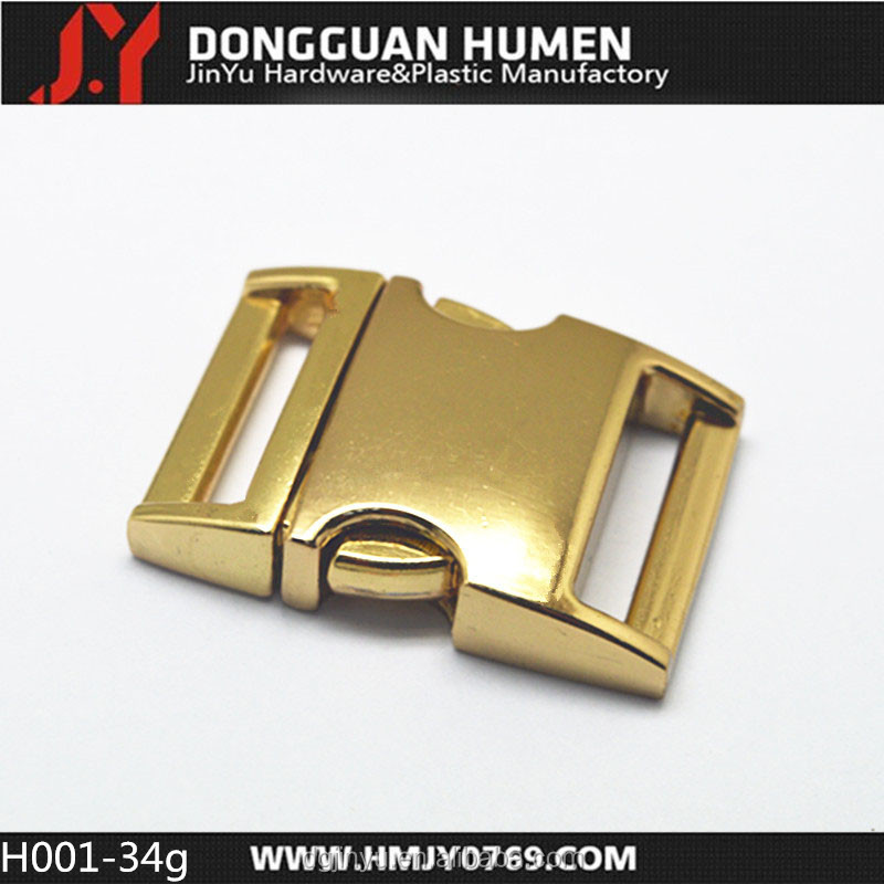 Dongguan Jinyu dog collar buckles side release buckles for pet collars