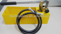 Hydraulic Pump Pressure Tester/ Manual Water Pressure Test Pump/ 0--50bar